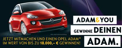 Opel Adam Gewinnspiel