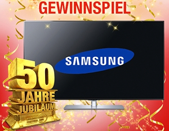 Samsung LED-TV Gewinnspiel