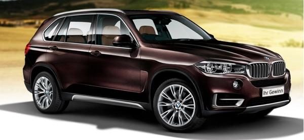 BMW X5 Gewinnspiel