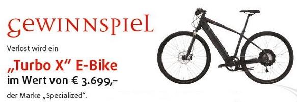 E Bike Gewinnspiel