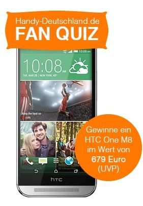HTC M8 Smartphone Gewinnspiel