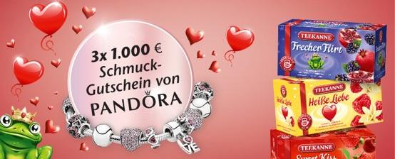 Pandora Schmuck Gewinnspiel