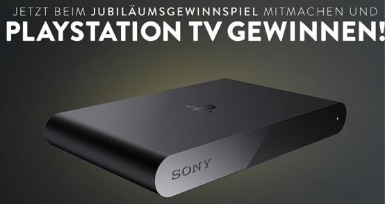 Playstation TV Gewinnspiel