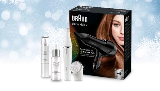 Braun Beauty Paket Gewinnspiel