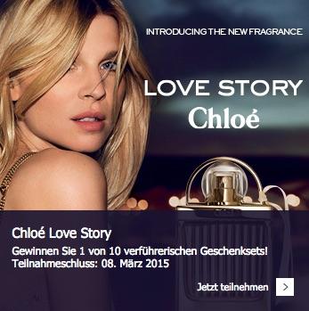 Chloé Love Story Gewinnspiel