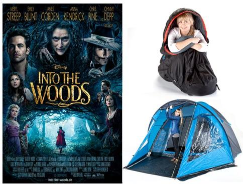 Skandika Schlafsack und Zelt Gewinnspiel bei Jolie
