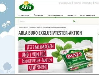 Arla Buko Gewinnspiel