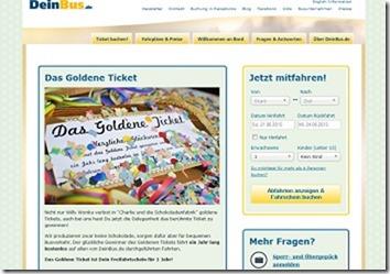 deinbus.de gewinnspiel goldenes ticket 1 jahr kostenlos fahren 2015