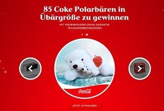 coca cola gewinnspiel 85 eisbären kuscheltiere