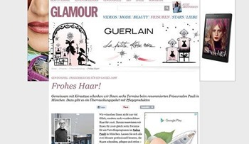 glamour gewinnspiel ein jahr friseur gewinnen