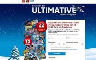 lego gewinnspiel mega lego paket gewinnen