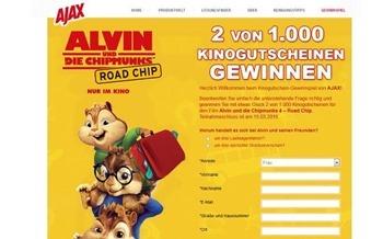 ajax gewinnspiel kinokarten gewinnen 2016