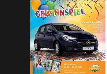 globus auto gewinnspiel faschings magazin 2016