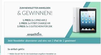 engelhorn gewinnspiel apple ipad gewinnen