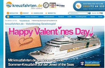 kreuzfahrten.de gewinnspiel valentinstag 2016