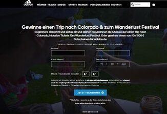 Adidas Gewinnspiel Colorado