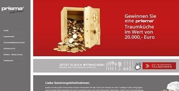 prisma küchen gewinnspiel 20.000 euro