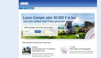 web.de gewinnspiel auto oder bargeld