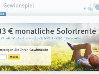 web.de gewinnspiel 3.333 euro sofortrente