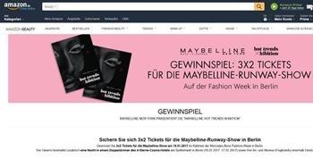 amazon gewinnspiel berlin fashion show 2017