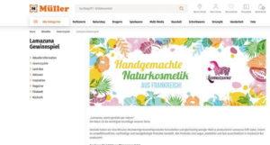 Müller Gewinnspiel Lamazuna Naturkosmetik
