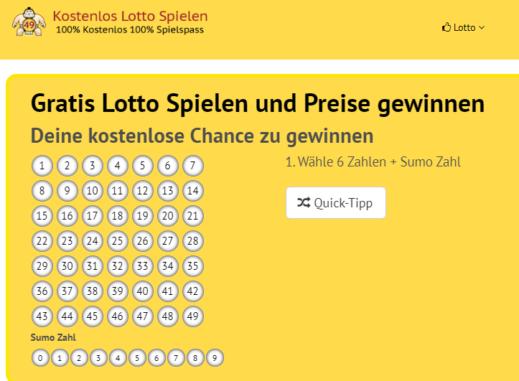 Lotto Gewinnspiele