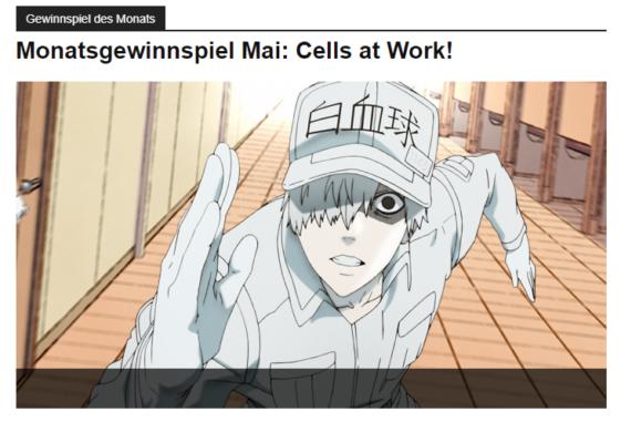 Anime Gewinnspiele
