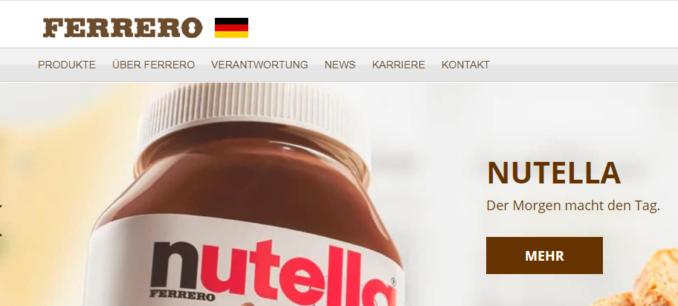 Ferrero drehen Gewinnspiel