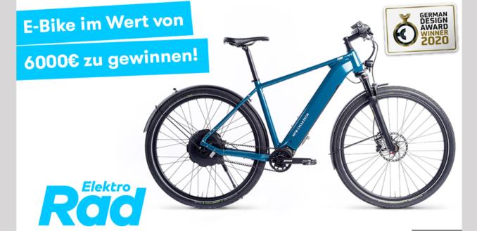 E-Bike Gewinnspiel: E Bike gewinnen